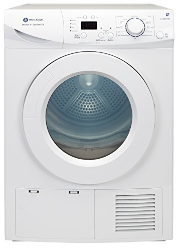 White Knight A+96M7W White 7kg LED Display Sensor Drying Condenser Tumble Dryer