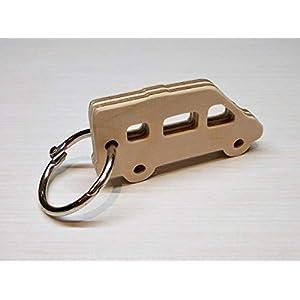 Schlüsselanhänger aus Holz - Camping Kastenwagen - Geschenkidee für Camper