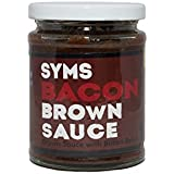 Syms Pantry Brown Sauce - 320g (Brown Sauce With Real Bacon)
