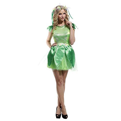 LLY Halloween Kostüm grüne Fee Kostüm Erwachsene Frau Cosplay Kostüm Zeigen Kleidung, - Hohe Konzept Kostüm
