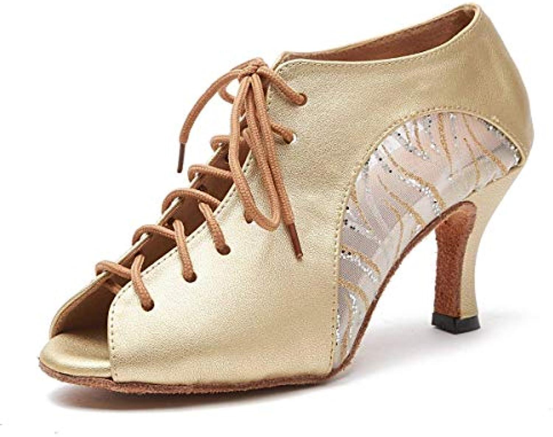 ZHRUI Sandali alla Caviglia da Donna con con con Cinturino alla Caviglia in Pelle Coloree oro con Lacci Inghilterra 7 (Coloreee... | Il Prezzo Di Liquidazione  01098d
