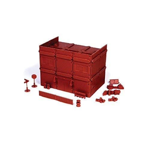 Mantic Games MGTRB04 20th Century - Bloque para Apartamentos, Color Rojo