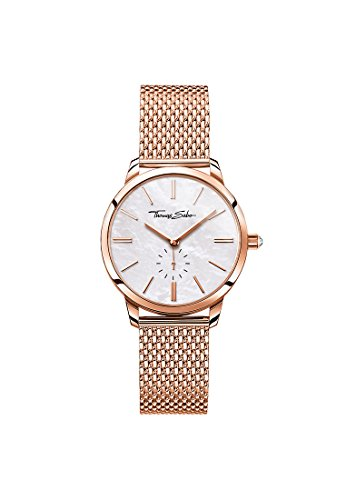 Thomas Sabo Reloj para mujer Glam Spirit Oro rosado y nácar WA0303-265-213-33 mm