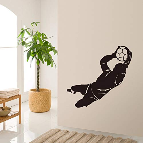 dkunst aufkleber fußball sport wohnkultur jungen zimmer dekor diy tapete entfernbare wandaufkleber 43 * 106 cm ()