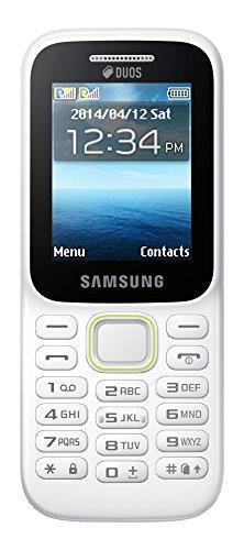 Samsung Guru Music 2 SM-B310E (White, Expandable up to 16 GB)