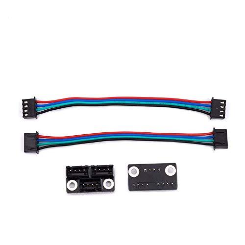 3D Drucker Teile und Zubehör, FYSETC 3D Drucker Schrittmotor Parallelmodul mit W Kabel für Double Z Achse Dual Z Motors Reprap Prusa Lerdge 3D Druckerboard - 2 Stück