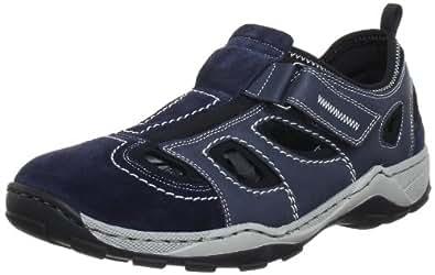 Rieker 08075 Sneakers-Men, Herren Sneakers, Blau (pazifik/denim/schwarz/14), 40 EU