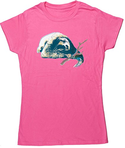 Hippowarehouse Damen T-Shirt Rose