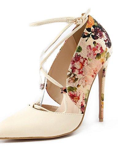 WSS 2016 chaussures talons printemps / été / automne / pointu orteil talons partie des femmes&soirée / robe / stiletto occasionnel talon red-us5.5 / eu36 / uk3.5 / cn35