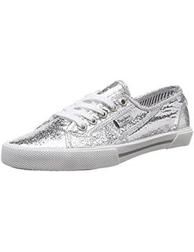 Pepe Jeans Damen Aberlady Metal Sneakers