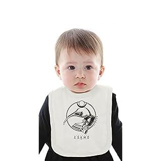Eskmo Language Organic Baby Bib With Ties Medium