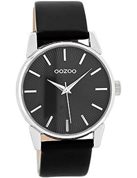 Oozoo Damenuhr mit Lederband Schwarz C8679