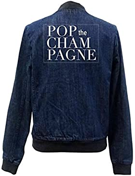 Pop The Champagne Bomber Chaqueta Girls Jeans Certified Freak