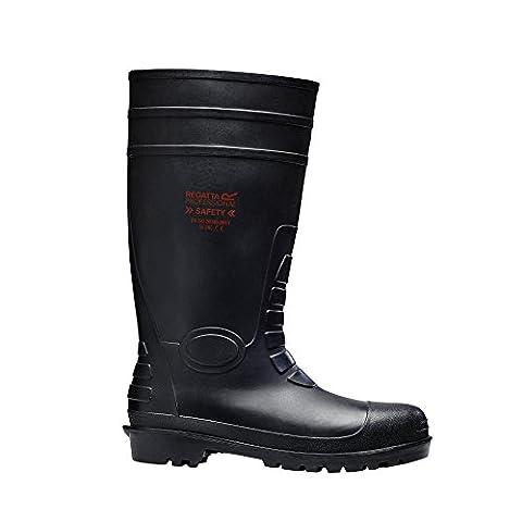 Regatta Hardwear Mens Douglas Steel Toe & Mid Safety Wellington Boot