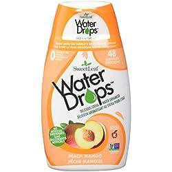Wisdom Natural Water Drops, Peach Mango 1.62 Oz