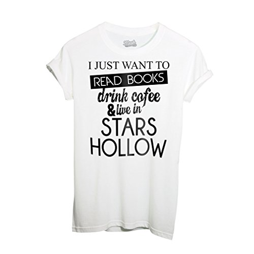 T-Shirt GILMORE GIRLS STARS HOLLOW - FILM by iMage Dress Your Style - Donna-S-BIANCA