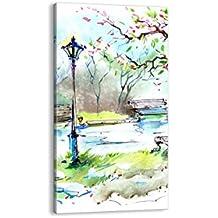 Cuadro sobre lienzo - de una sola pieza - Impresión en lienzo - Ancho: 65cm, Altura: 120cm - Foto número 3035 - listo para colgar - en un marco - PA65x120-3035