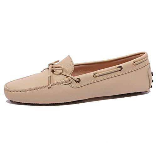 b1421-mocassino-donna-tods-laccetto-occhielli-scarpe-beige-loafer-shoes-women-37
