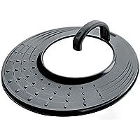 Lacor 71931 - Tapa Aluminio Antisalpicaduras Universal Antiadherente 20-, 28 cm