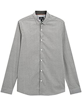 next Hombre Camisa Con Estampado
