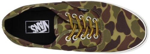 Vans Unisex-Erwachsene U Authentic Lauflernschuhe Sneakers Grün (Waxed Canvas) JFBmr