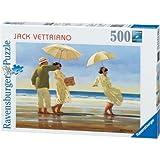 Ravensburger The Picnic Party Jack Vettriano 500pc Jigsaw Puzzle