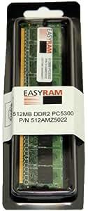 Easyram 512MB DDR2 PC5300 667Mhz Memory Module