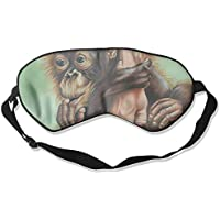 Sleep Eye Mask Painting Chimpanzee Lightweight Soft Blindfold Adjustable Head Strap Eyeshade Travel Eyepatch E14 preisvergleich bei billige-tabletten.eu