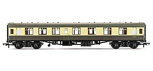 Hornby calibre 00 270 mm BR MK1 Corridor Composite BR Coach modèle (Chocolat/crème)