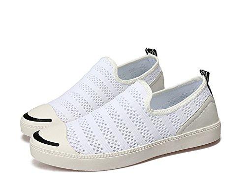 CHT Netz Beiläufige Schuhe Der Sommermänner White2