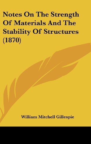 Notes on the Strength of Materials and the Stability of Structures (1870)