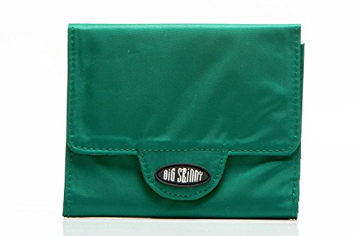 Big Damen Skinny Trixie Tri-Fold Slim Wallet, hält bis zu 30 Karten, Verdant Green - Card Wallet Womens Slim-credit