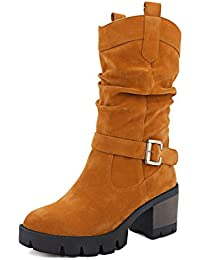 Amazon.it  anziani - Marrone   Stivali   Scarpe da donna  Scarpe e borse 252617d55e8