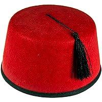Amazon.it  feltro rosso - Cappelli per adulti   Cappelli  Giochi e  giocattoli 30e442be7885
