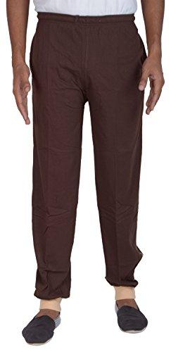 CredyDoll Sports CrezyDoll Sports Men's Cotton Track Pant (CD_RBT_COFFEE--XL, Brown, X-Large)
