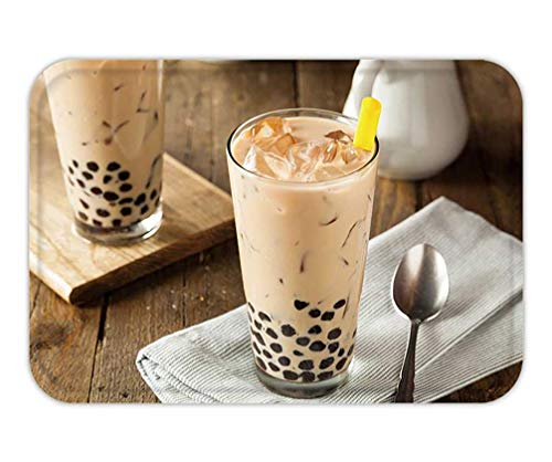 ade Milk Bubble Tea with Tapioca Pearls 15.7X23.6 Inches/40X60cm ()