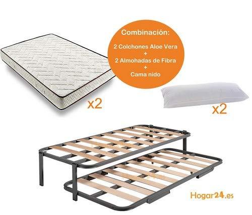 HOGAR24 ES.es-Cama Nido Estructura Reforzada Doble