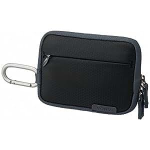 Sony LCSTWH Gepolsterte leichte Kameratasche für Cyber-shot W- und T-Serie in Schwarz