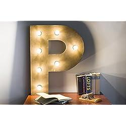 LETRA gran tamaño con luz led. Hechas a mano, personaliza el tamaño y elige la letra.