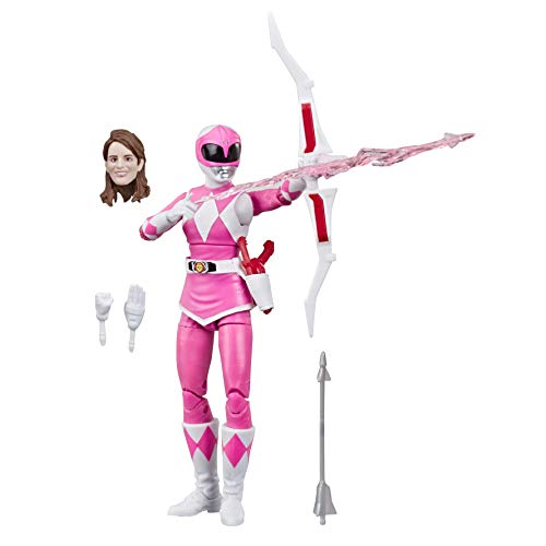 """Hasbro Power Rangers Lightning Collection 6"""" Mighty Morphin Pink Ranger Action Figure"""