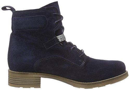 Tamaris 25276 Damen Combat Boots Blau (Navy 805)