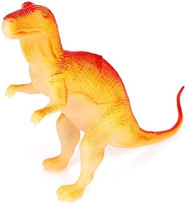 Hanbaili Dinosaure Fluorescente Amusant Simulation De Dinosaure   Lumineux Décoration Fête | Matériaux De Qualité