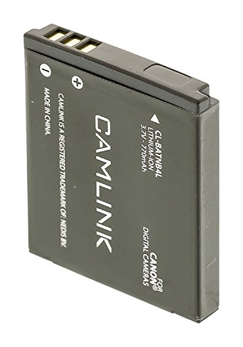 Ersatz Lithium Ionen Akku Accu Wiederaufladbare 3.7 V 770 mAh zb für Canon NB-4L Digital IXUS 30 40 50 55 60 65 70 75 80 IS i7 PowerShot ELPH 10 HS SD1000 SD1100 SD1400 SD750 SD780 SD940 SD960 SD970 Canon Powershot Sd1100 Is