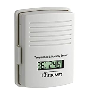 ClimeMET CM9-TH Temperature and Humidity Outdoor Sensor.