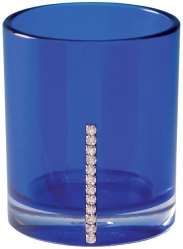 Sanwood by Nicol 6942017 Marilyn Becher mit Swarowski Elements, Durchmesser 8,5 x 7 cm, blau