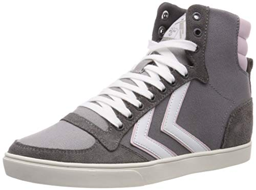 hummel Unisex-Erwachsene Slimmer Stadil HIGH Hohe Sneaker, Grau (Castle Rock 2600), 38 EU