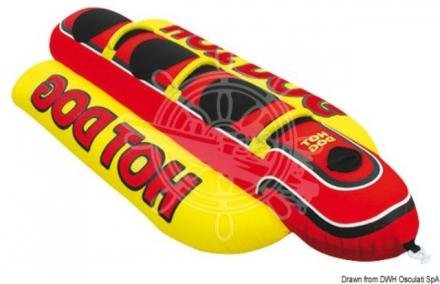 Airhead Hot Dog Hot Dog Rouge/Jaune