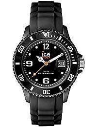 Ice-Watch - ICE forever Black - Montre noire mixte avec bracelet en silicone - 000133 (Medium)