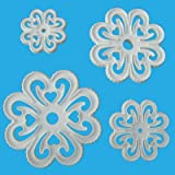 Orchard Products -Lace Heart Cutters- Floral Flower Sugar Craft Cake Decorating Pro