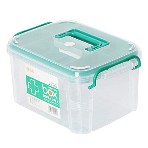 Pille boxhousehold medizin box medizin aufbewahrungsbox (Größe: L26.5cm)
